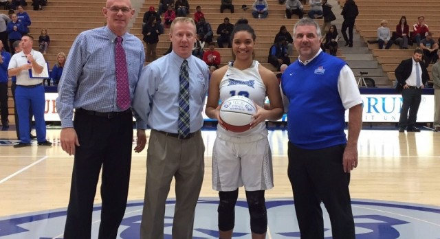 Congratulations to Bre Lloyd – 1,000 Points