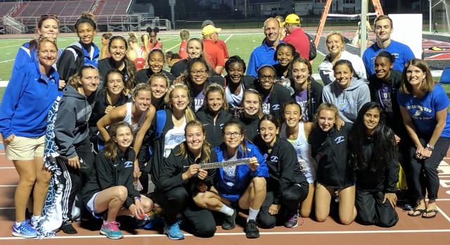 Girls Track wins Regional!