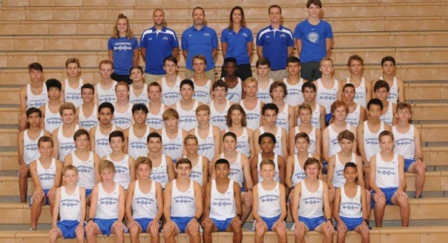 2017 JV/Varsity Boys Cross Country Team – #WeAreRoyals