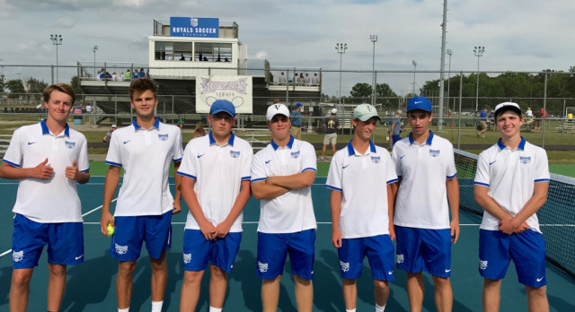 Hamilton Southeastern High School Boys Varsity Tennis defeat Westfield High School 3-2