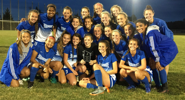 Hamilton Southeastern High School Girls Varsity Soccer beat Fishers High School 3-1