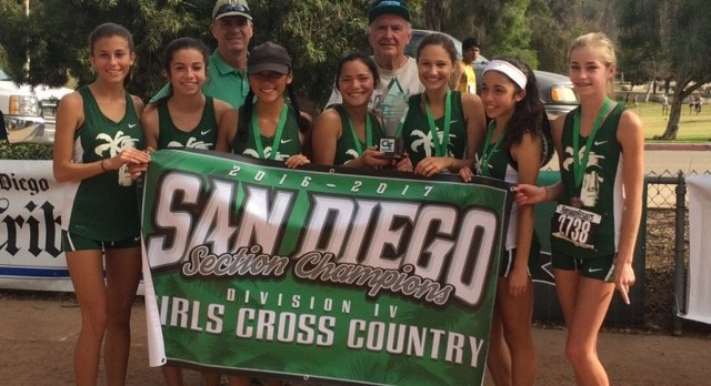 Girls Cross Country Win CIF Title