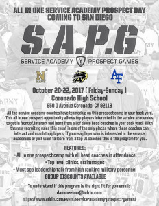Service Academy Prospect Games - San Diego