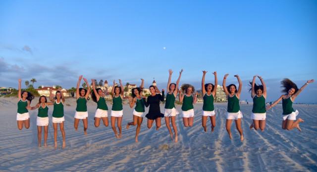 Girls JV Tennis Finishes Season Undefeated