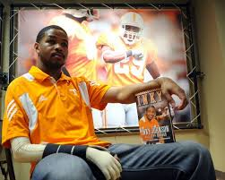 Leadership, teamwork, and perseverance, Inky Johnson inspires Lanier's students to embrace the challenges of life.