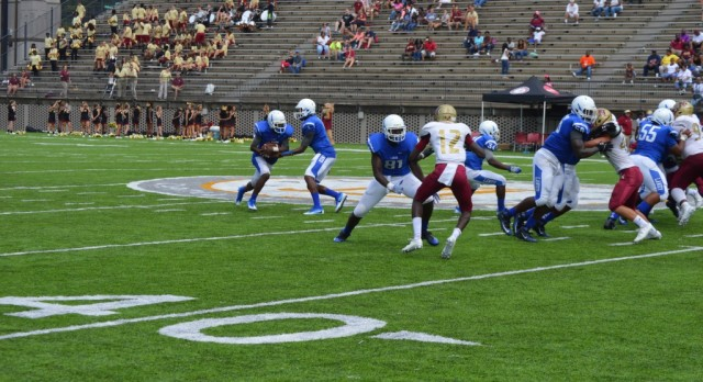 Sidney Lanier High School Varsity Football beat Northview High School 24-14