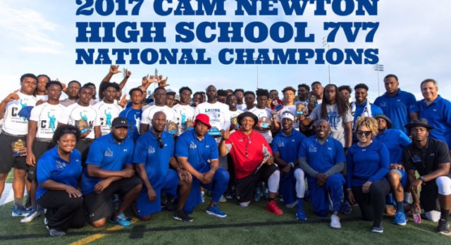 POETS WIN CAM NEWTON 7 ON 7 NATIONAL CHAMPIONSHIP!!!!!