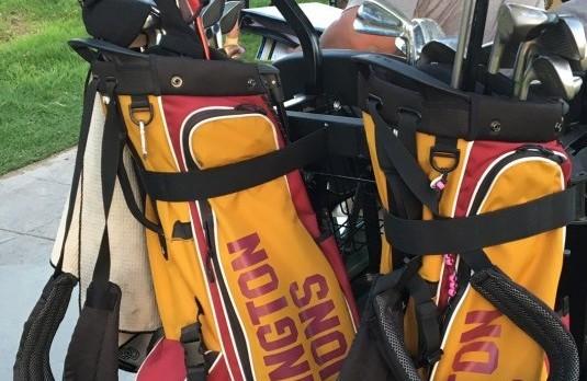 Arlington Girls' Golf defeats Rancho Verde, 291-321, on Thursday, 10/13.