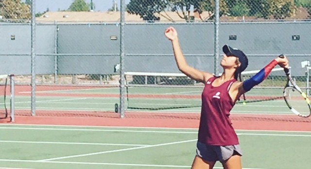 Arlington Girls' Tennis defeats Rancho Verde, 15-3, on Wednesday, 10/18.