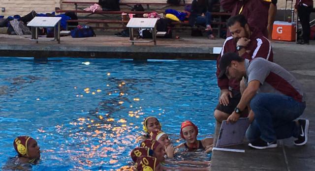 Arlington Girls' Water Polo defeats Redlands 11 – 9, on Tuesday 2/14.