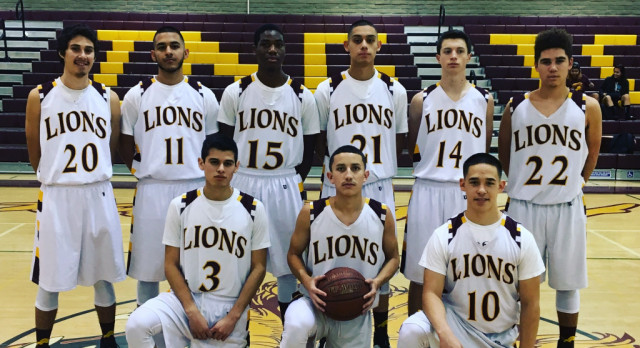 "Arlington Boys' Basketball wins on ""Senior Night."" Our Lions downed the Cougars 45 – 35, on Friday 2/3."