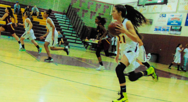 Arlington Girls' Basketball hosts Poly on Thursday, 1/26.