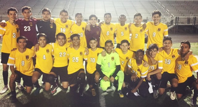 Arlington Boys' Soccer loses to Chino Hills, 1-0 on Saturday, 2/18.