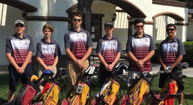 Arlington Golf downs Rancho Verde, 242 – 302, on Thursday, 4/27.