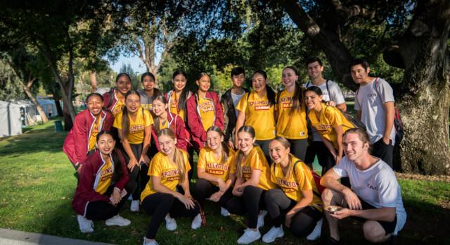 Dance Team Participates in the Fairmont Park Make-A-Wish Walk, Saturday 4/22
