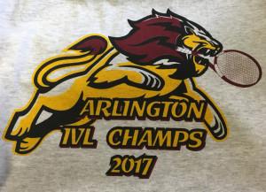 Arlington Tennis IVL Champs 2017 LOGO