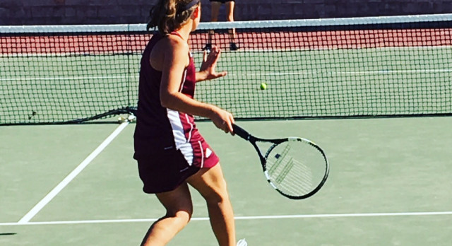 Arlington Girls' Tennis downs Canyon Springs, 18-0, on Tuesday, 10/17.