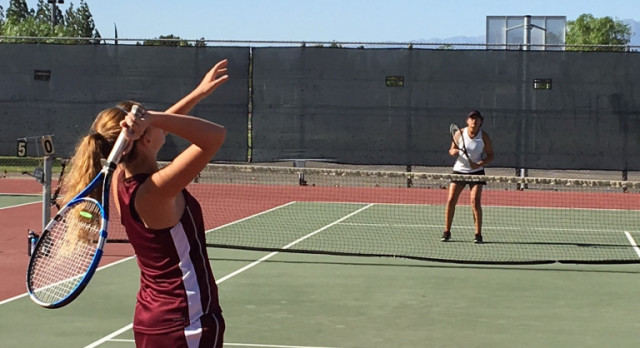 Arlington Girls' Tennis defeats J.W. North, 9-9 (77-71 in games), on Wednesday, 10/11.