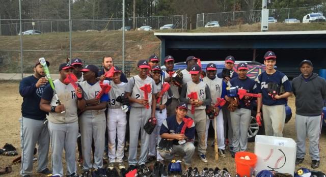 Atlanta Braves Make Baseball Donation!