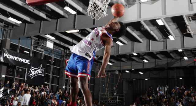 Pebblebrook's Collin Sexton WINS MCDAAG Dunk Contest!