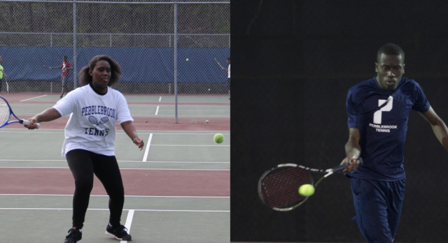 Tennis Athletes of the Month!