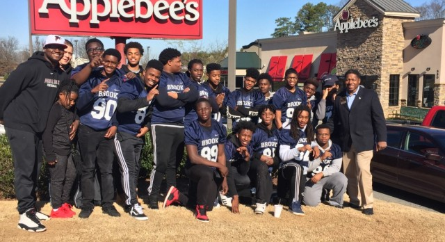 Falcons Football Teams Hosts Pancake Breakfast!