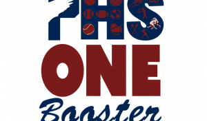 one booster logo phs