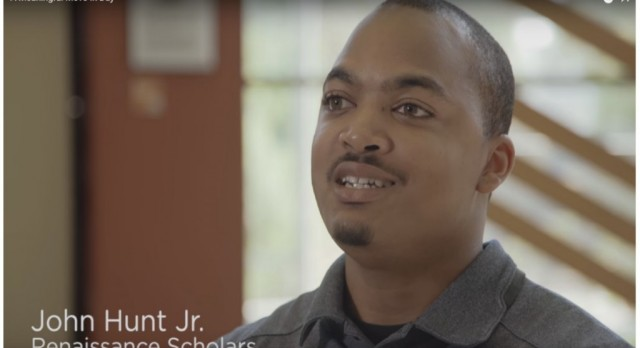 Former Student John Hunt making a difference.