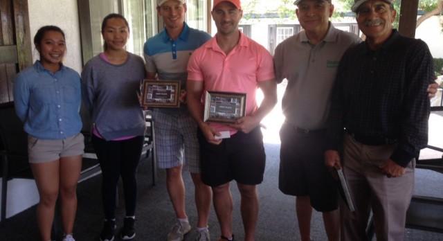 Successful Golf Tournament for Athletics