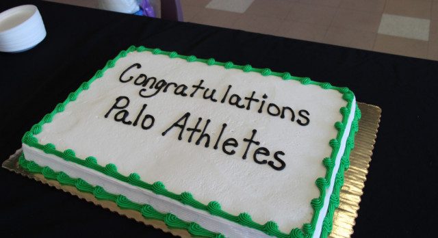 Palo athletes sign letters of intent