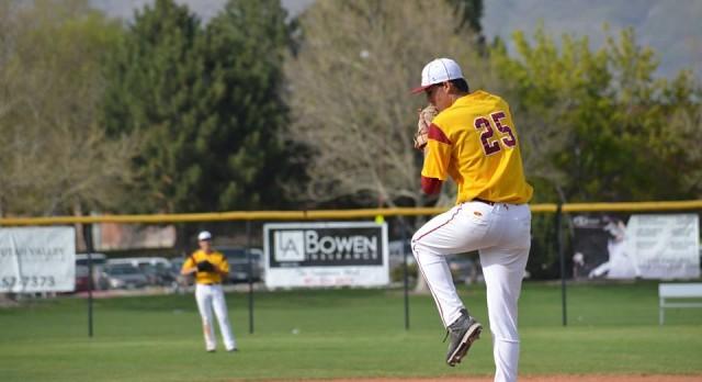 Mountain View High School Varsity Baseball beat Timpview High School 11-6