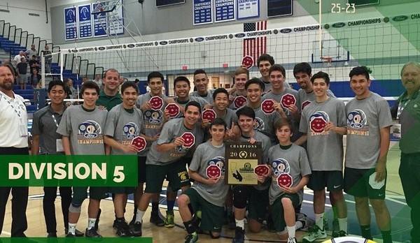 Varsity Volleyball – CIFSS Division 5 Back to Back Champions