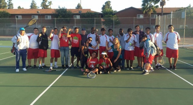 ECV Boys tennis wins first League tennis match vs. Monte Vista for the first time in 20 years! Go Braves!