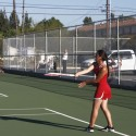 El Cajon Valley High School Girls Tennis team vs. Grossmont High School