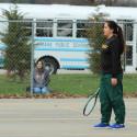 Girls JV Tennis vs Millard South 2017