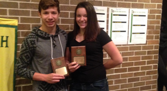 Male and Female Athlete of the Year