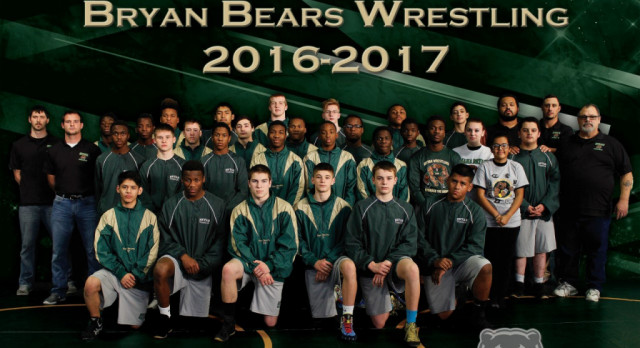 Green and Gold Wrestle-Offs