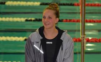 Julia Larson Swims her Way to State!