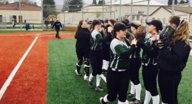 West Salem High School Varsity Softball beat Rex Putnam High School 6-1