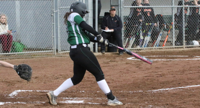 West Salem High School Varsity Softball beat Sprague High School 7-1