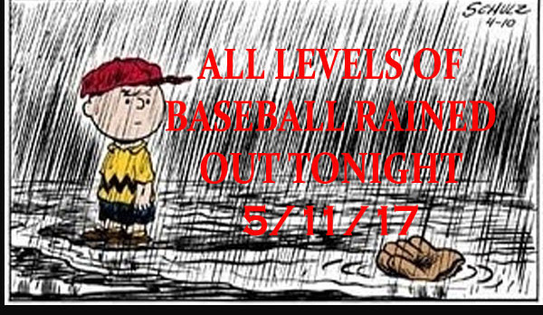 Baseball Rained Out 5/11