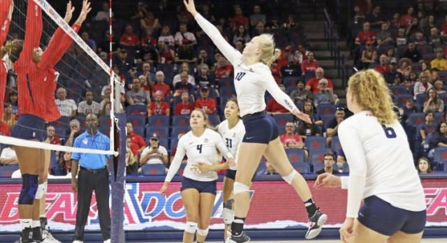 Former graduate Paige Whipple sets up success at Arizona