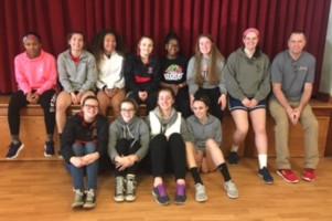 Girls Basketball in Community
