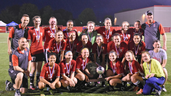 2017 Girls Soccer Runners Up Picture by: Jacqui Meach