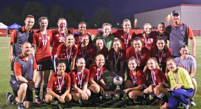 Girls Soccer Takes 2nd Place at State