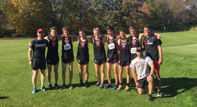 Follow boys cross country team at state meet