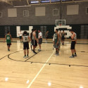 Varsity Boys Basketball Pre-Season Practice