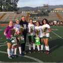 Girls Soccer Senior Game