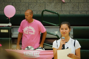 volleyball - dig pink