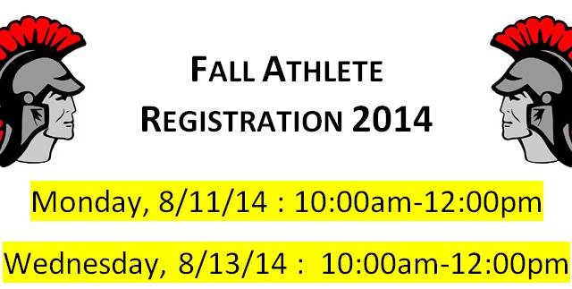 Fall 2014 Registration